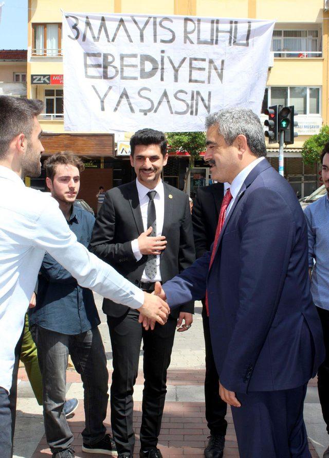 Başkan Alıcık, Türkçülük Günü etkinliğine katıldı