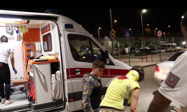 Kayınpederi tarafından dövülen 17 yaşındaki N.Ç., polis merkezine sığındı