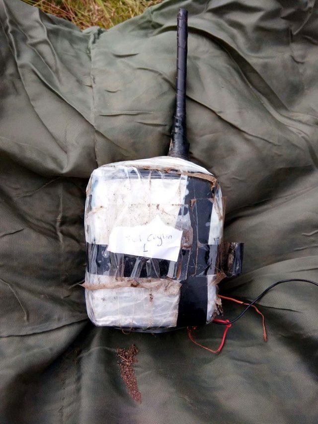 Irak'ın kuzeyinde, patlayıcı yapımında kullanılan malzeme ele geçti