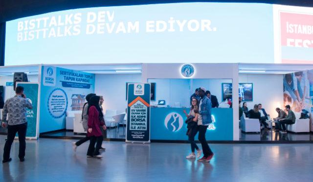 Borsa İstanbul, İstanbul Gençlik Festivali kapsamında gençlerimizle bir araya geldi.