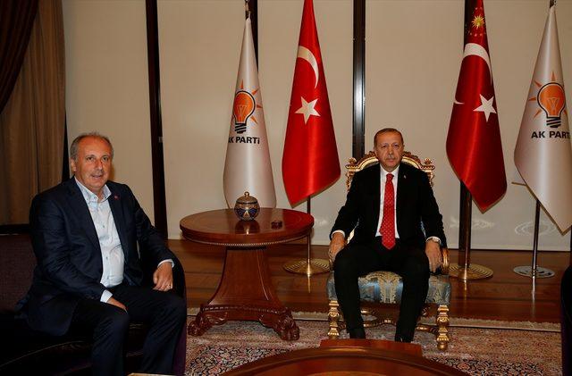 muharrem ince- erdoğan görüşmesi