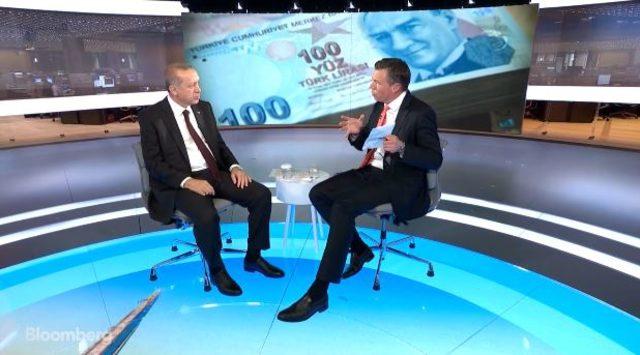 Erdoğan'ın Bloomberg röportajı