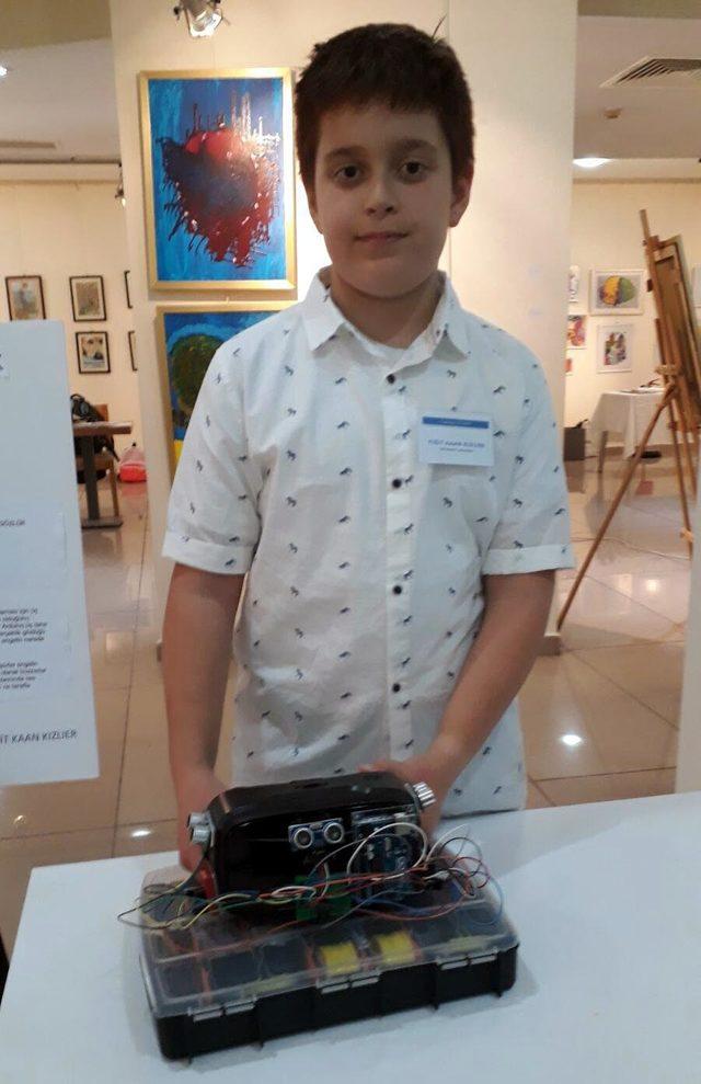 Öğrenciler teknolojiye yaratıcılıklarını kattı