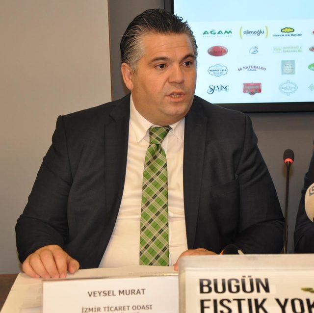 İzmirli tatlıcılardan Antep fıstığındaki fiyat artışına karşı eylem