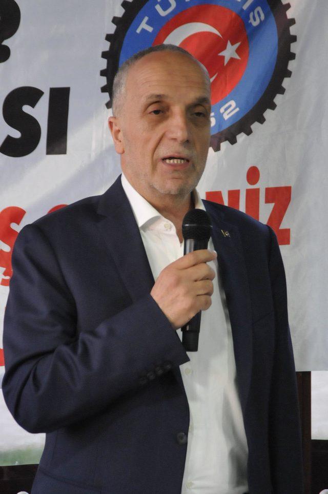 Türk-İş Genel Başkanı Atalay'dan 'taşeron işçi' açıklaması