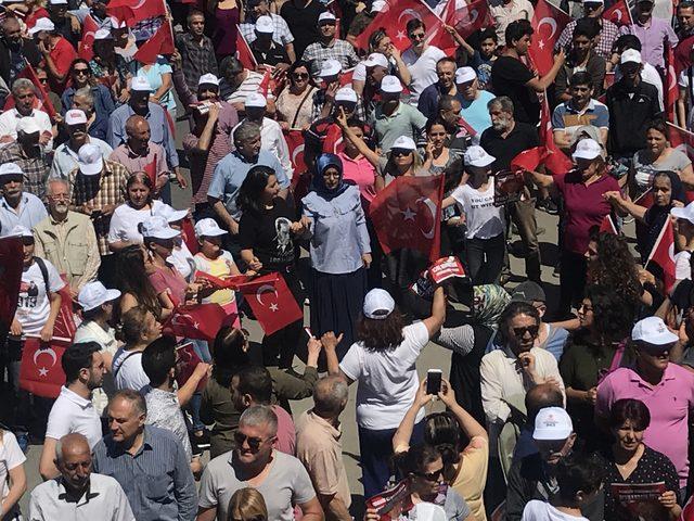 Ek fotoğraflar // Muharrem İnce Kağıthane mitinginde konuştu