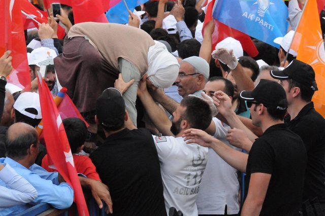 Cumhurbaşkanı Erdoğan: Kürtlere kimse devlet aramasın