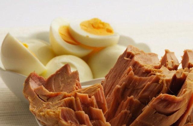 protein diyeti menu