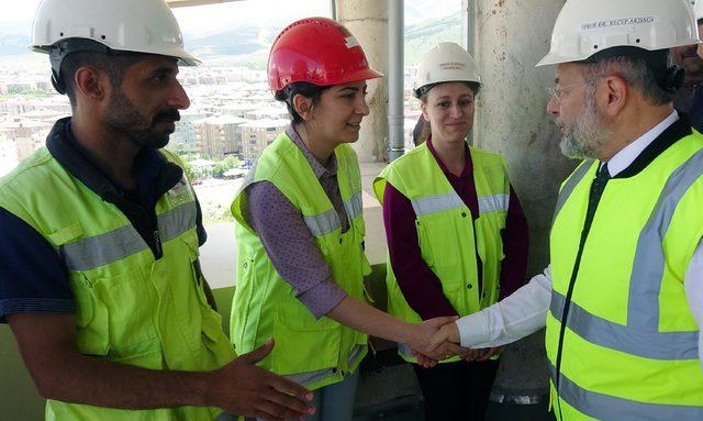 Erzurum Şehir Hastanesi, 8 şiddetindeki depremde bile hizmet verecek