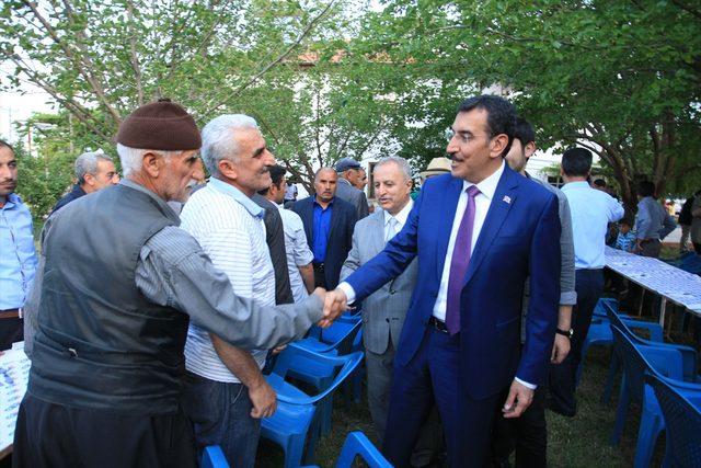 Gümrük ve Ticaret Bakanı Tüfenkci, Malatya'da