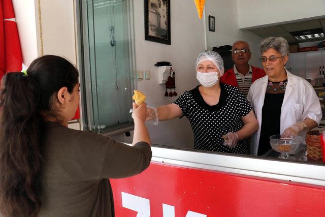 Samsun'un kadın dondurma ustaları