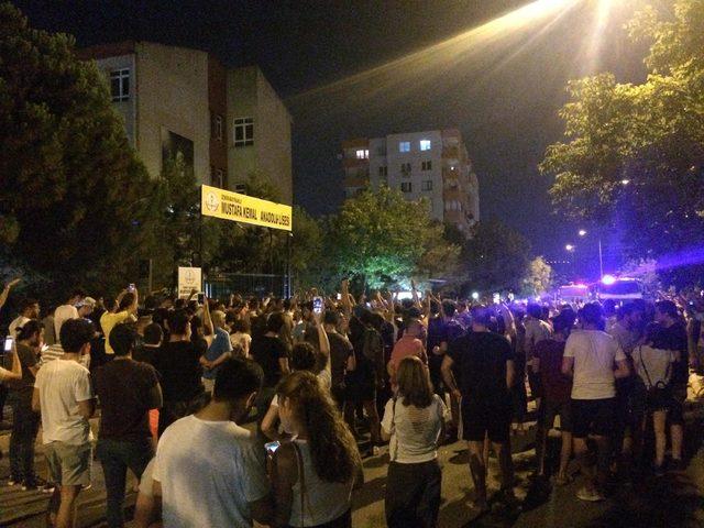 Картинки по запросу Bayraklı'da biber gazlı müdahale