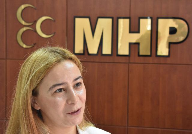MHP'nin Konya'daki ilk kadın vekilinden, idam çıkışı