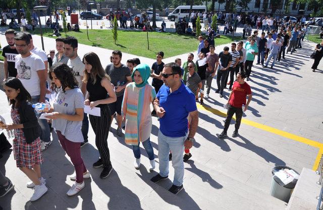 Ankara'da YKS heyecanı