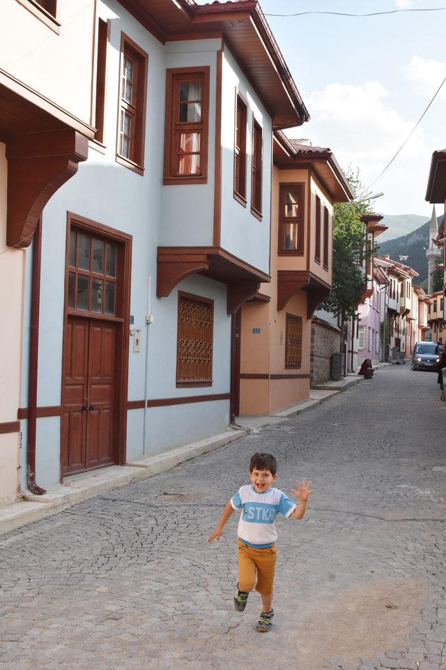 Akşehir evleri ile Safranbolu evlerine rakip oluyor
