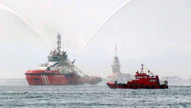 Denizcilik ve Kabotaj bayramı İstanbul'da kutlandı