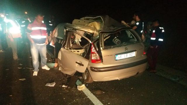 Kahramanmaraş'ta 2 kazada 13 kişi yaralandı