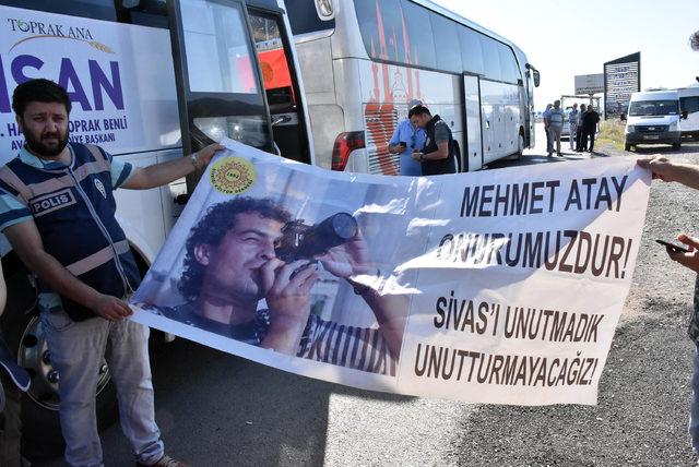 Sivas olaylarında hayatını kaybedenler 25'inci yıl dönümünde anıldı