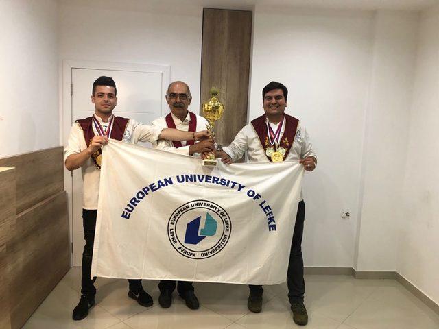 (yeniden) LAÜ 'uluslararası yemek yarışması' kategorisinde birincilik elde etti