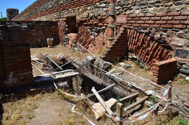 Sardes Antik Kenti'nde binlerce yıl önce termal ısıtma kullanılmış