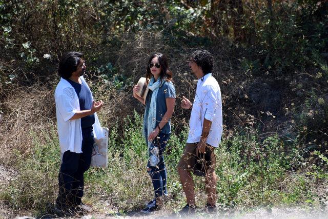 Hollywood yıldızı Megan Fox, Troia'da belgesel çekiyor