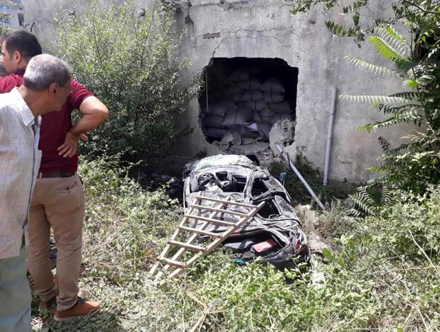 40 gün önce baba olan sürücü, kazada öldü