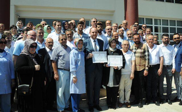 AK Parti Yalova milletvekilleri mazbatalarını aldı