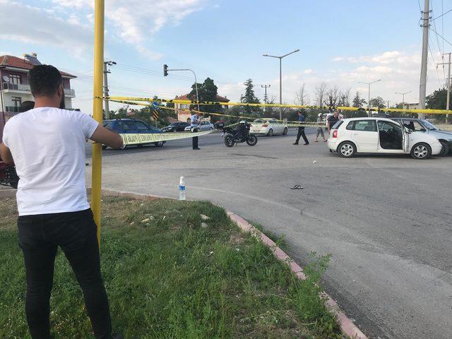 Uzman çavuş, trafik kazasına tartıştığı sürücüyü vurdu