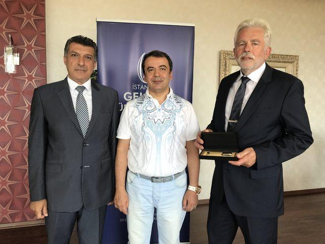İGÜ, AB'li işadamları ve uluslararası diplomatlarla ortak proje üretecek