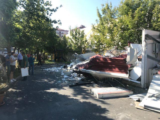 Beylikdüzü Sualtı Sporları Dünya Rekortmenleri Kulübü Derneği'nin binası yıkıldı