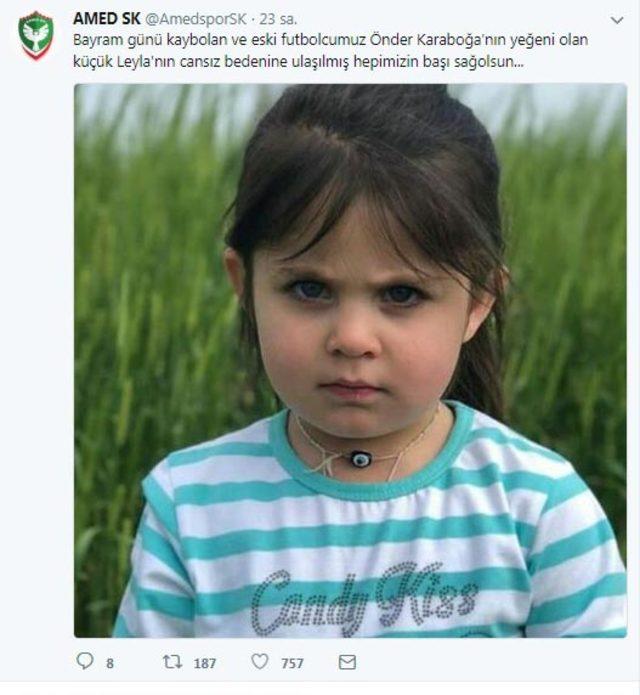 Leyla, futbolcu Önder Karaboğa'nın yeğeni çıktı