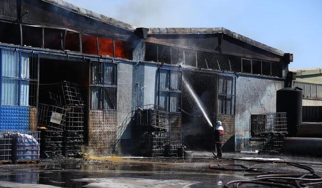 Ankara'da Keresteciler Sitesi'nde yangın (2)