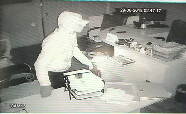 Hırsızlık çetesi güvenlik kameralarından yakalandı
