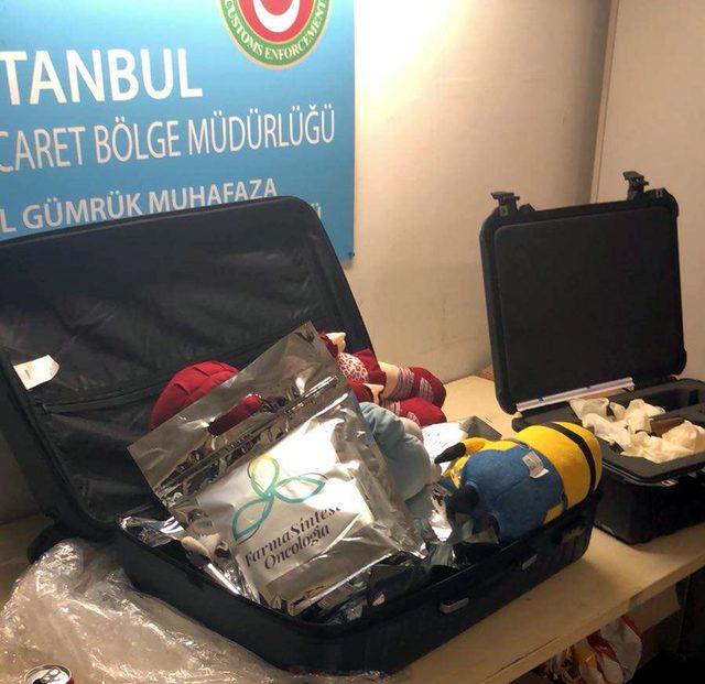 Atatürk Havalimanı'nda 30 kilo kokain ele geçirildi