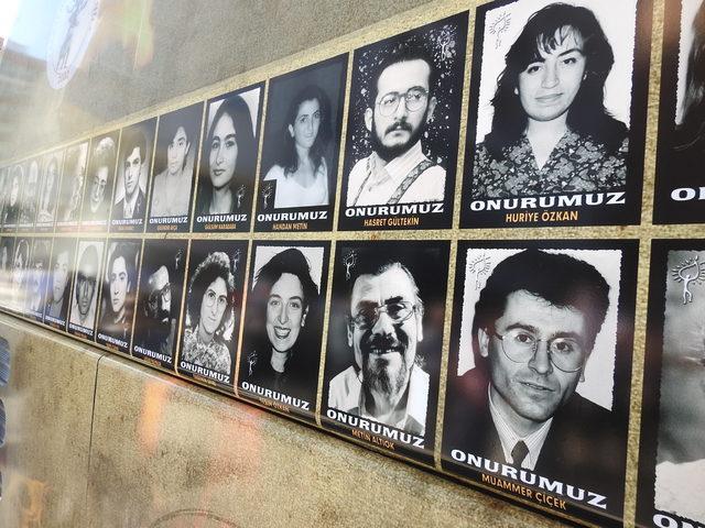 Çorum olaylarında ölen 57 kişi anıldı