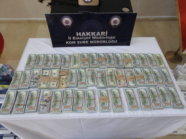 Hakkari ve Van'da PKK'nın finans kaynağına darbe
