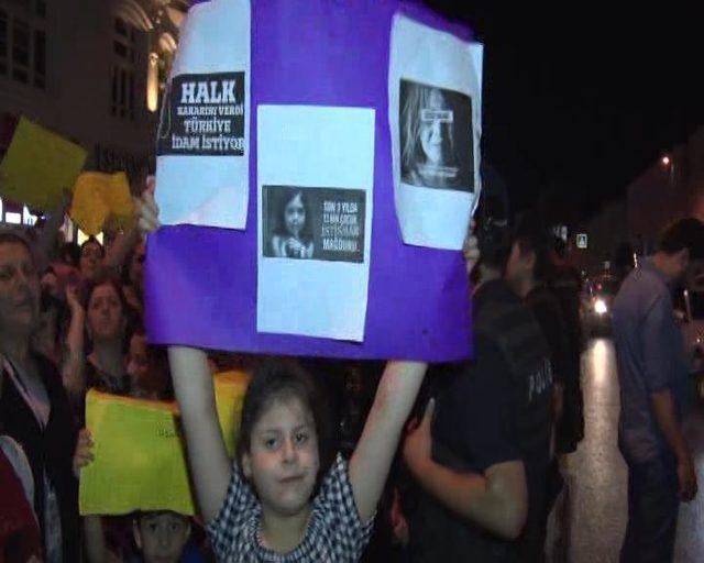 Fatih'te Eylül ve Leyla için eylem düzenlendi