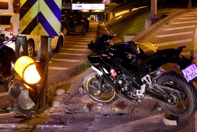 Eyüp'te trafik kazası: 1 yaralı