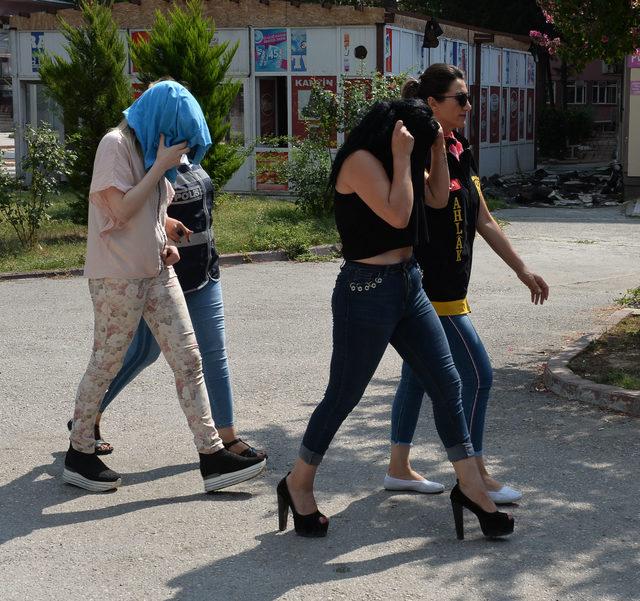 Adana merkezli 5 ilde fuhuş operasyonu (2)