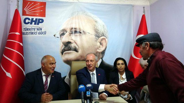 Muharrem İnce: CHP karışmaz