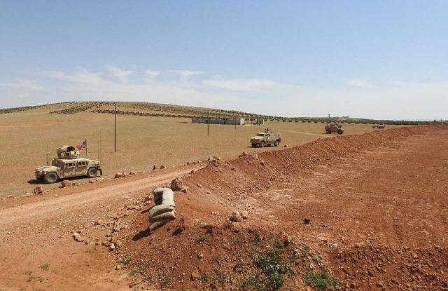 Menbiç-El Bab sınırında, ABD ve Fransız askerlerinin fotoğrafları paylaşıldı