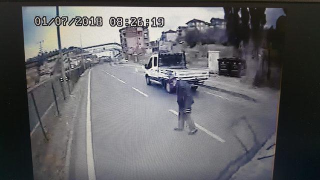 Kaza görüntülerini verdi, serbest kaldı