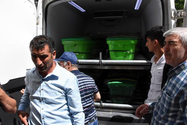 4 tabutta, 5 cenaze Ankara'ya gönderildi