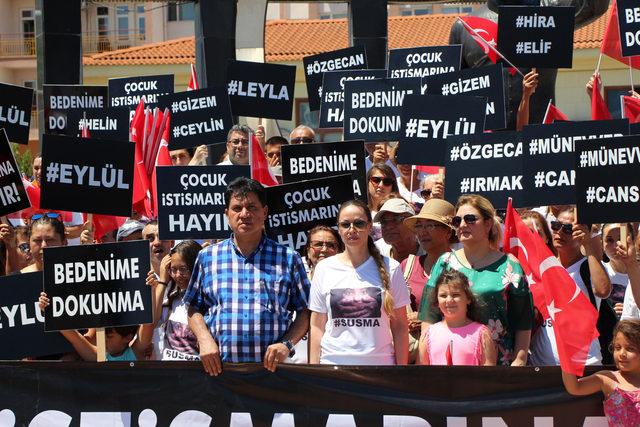 Başkanın eşinden 'çocuk istismarı' tepkisi: İçerideki mahkumlardan medet umuyoruz