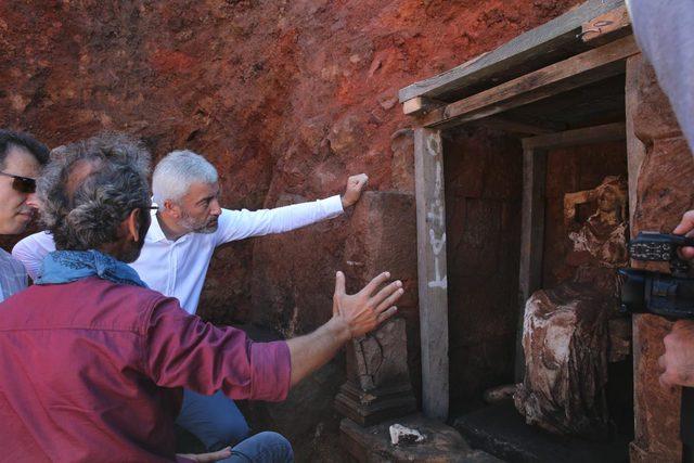 'Ana Tanrıça Kibele' heykelinin bulunduğu kalede kazı çalışmaları yeniden başlıyor