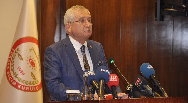 YSK Başkanı Güven, 24 Haziran kesin seçim sonuçlarını açıkladı