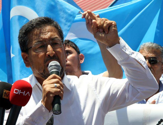 Uygur Türklerinden tepki