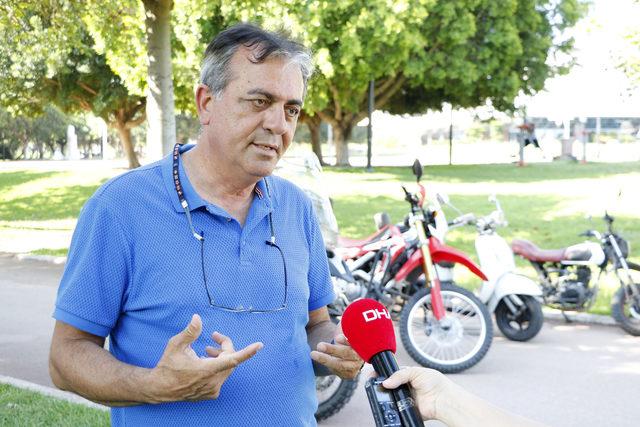 Motosikletleriyle Toroslar'da 40 kilometre sürüş yaptılar