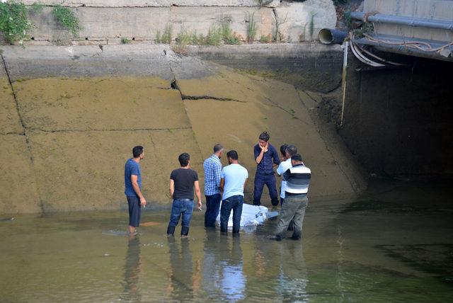 İnşaat işçisi, kanalda boğuldu