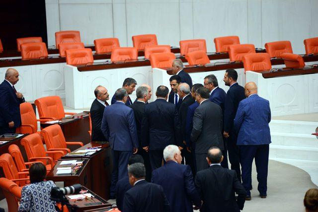 Mecliste 27'nci dönem milletvekilleri yemin ediyor (5)